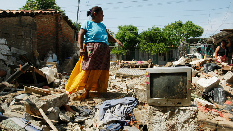 ¿Afecta a todos por igual el azar de los desastres?