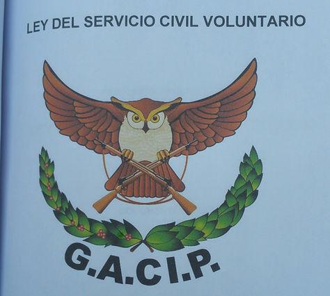 El documento del anteproyecto de Ley de Servicio Civil Voluntario. Foto. La Razón