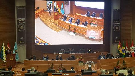 I Reunión Plenaria del Grupo Operativo Bioceánico. Foto:Ministerio de Obras Públicas