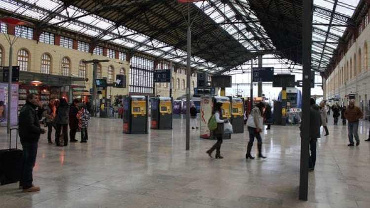 Estación Saint Charles, en Marsella