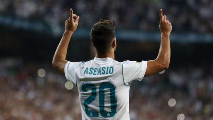 (Reuters) Con la ausencia de Cristiano Ronaldo, Marco Asensio es el goleador merengue