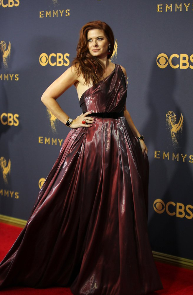 69th Primetime Emmy Awards – Arrivals – Los Angeles, California, U.S., 17/09/2017 - Actress Debra Messing. REUTERS/Mike Blake