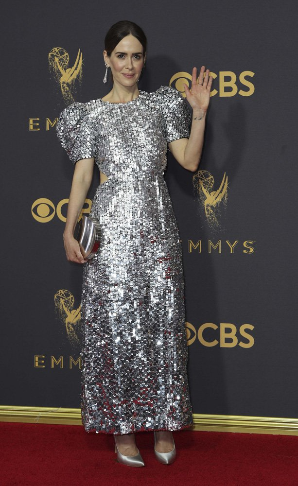 69th Primetime Emmy Awards – Arrivals – Los Angeles, California, U.S., 17/09/2017 - Sarah Paulson. REUTERS/Mike Blake