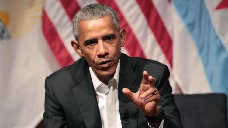 El ex presidente de EEUU Barack Obama (AFP)