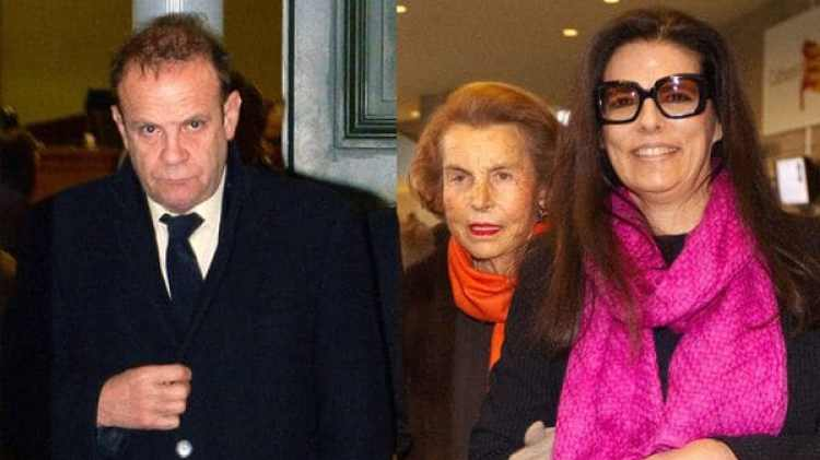 Francois-Marie Banier, Liliane Bettencourt y Francoise Bettencourt