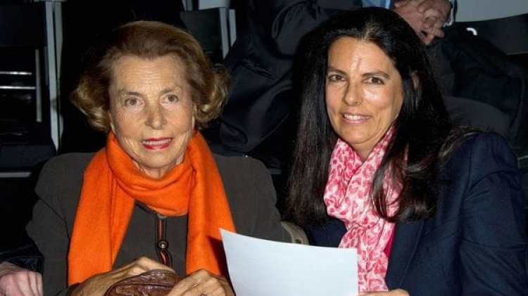 Liliane Bettencourt y Françoise Bettencourt (Getty)