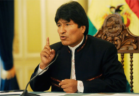 El presidente Evo Morales en una fotografía de archivo.