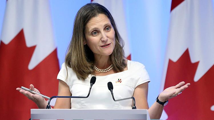 Canadá impone sanciones a 40 funcionarios del Gobierno de Venezuela