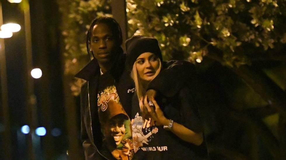 Kylie Jenner y Travis Scott, el pasado abril en Miami.