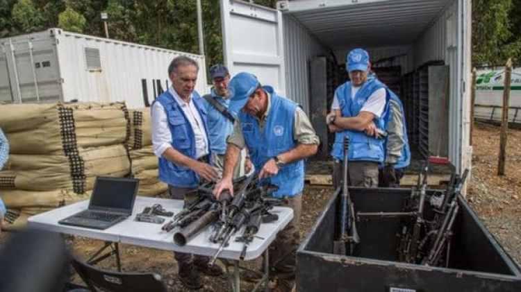 Las FARC han completado el proceso de desarme