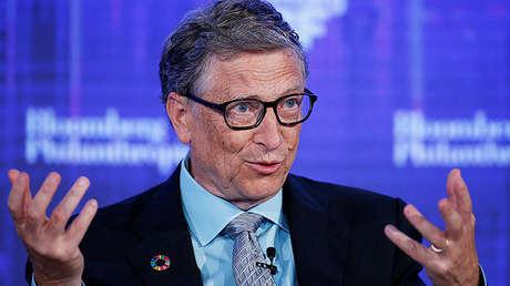 Bill Gates durante el Bloomberg Global Business Forum, el 20 de septiembre de 2017