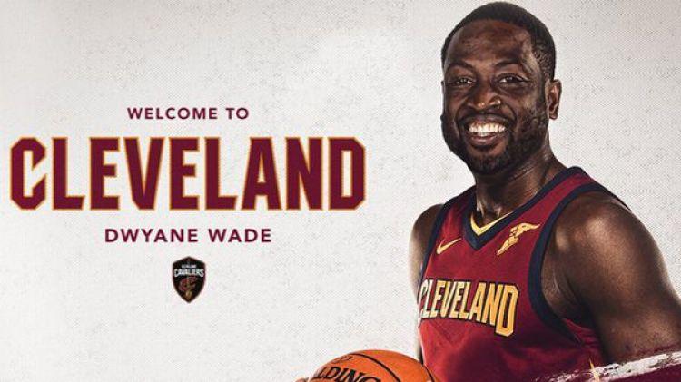 Dwyane Wade ya fue anunciado como nuevo jugador de Cleveland Cavaliers