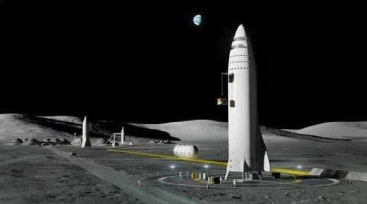 Moon Base Alpha (Space X)