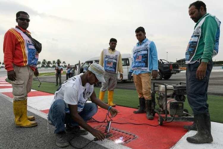 Las autoridades dieron por finalizada la jornada tras el accidente de Romain Grosjean (AFP)