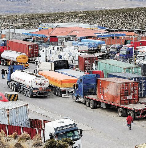 Resultado de imagen de Aduanas de Bolivia y Chile