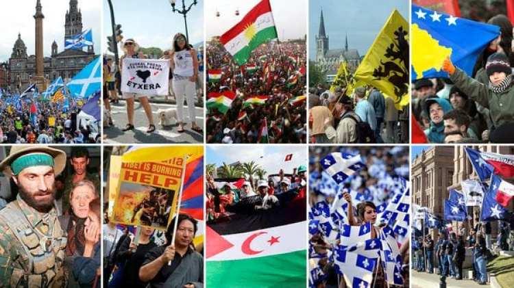 Algunos de los separatismos más relevantes de esta época