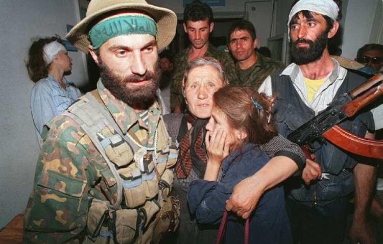 Los chechenos se enfrentaron militarmente con el Ejército ruso (AFP)