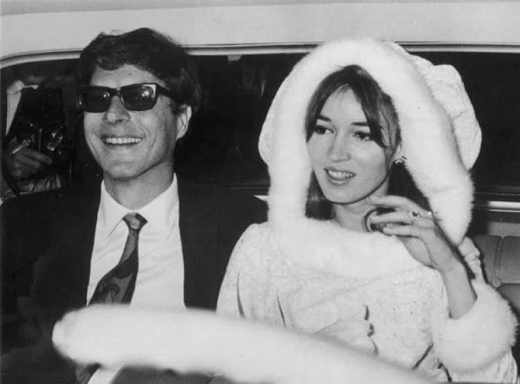 John Paul Getty Jr (1932 – 2003) con su segunda esposa Talitha Pol (Getty Images)
