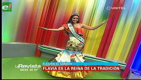 Flavia Vega elegida Reina de la Tradición Cruceña 2017
