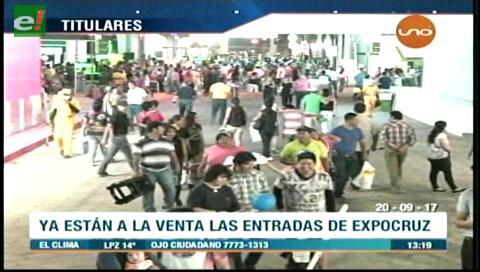 Video titulares de noticias de TV – Bolivia, mediodía del miércoles 20 de septiembre de 2017