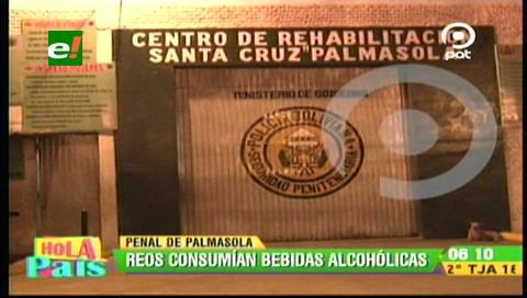 Palmasola: Policía evita enfrentamiento entre reos