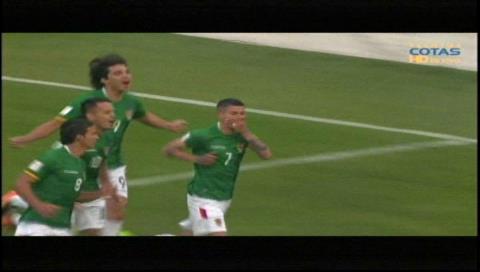 Bolivia hace respetar su localía y derrota a Chile 1 a 0