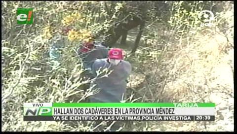 Madre e hijo son asesinados en Tarija