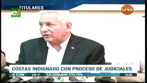 Video titulares de noticias de TV – Bolivia, mediodía del martes 12 de septiembre de 2017