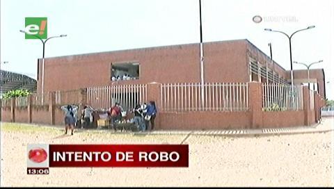 Detienen a delincuentes que intentaron robar en un colegio