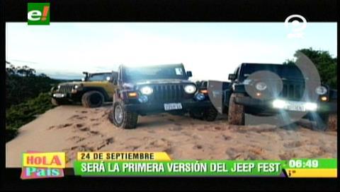 Se viene el Jeep Fest en Santa Cruz