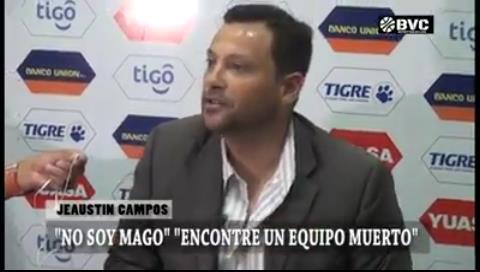"Campos: ""Agarramos un equipo que estaba muerto"""