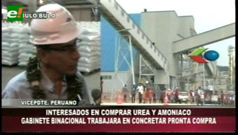 Perú interesado en comprar urea y amoniaco
