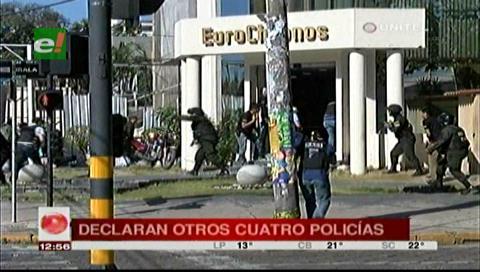 Cuatro policías declararon por el caso Eurochronos