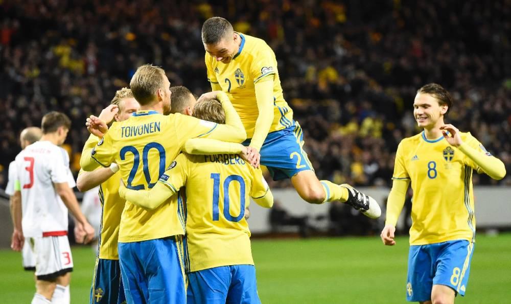 Rusia 2018: Suecia goleó a Belarus y le mete presión a Francia