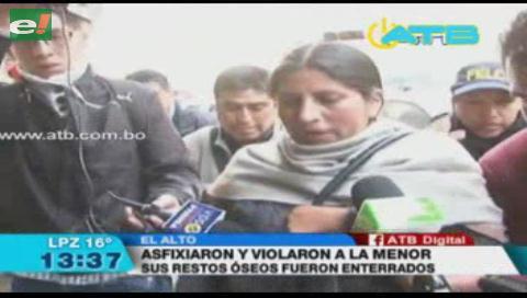 Detuvieron a un joven de 19 años por la muerte de una menor en El Alto
