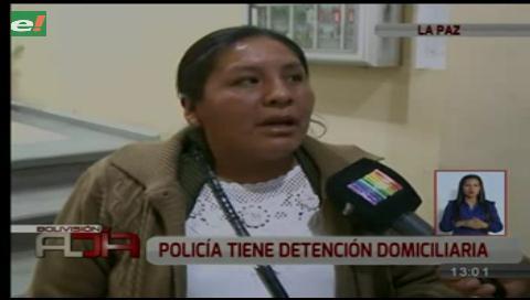 Víctimas denuncian que policía que cobraba por cupos en la academia cumple con prisión domiciliaria