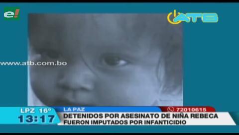 Imputan a detenidos por el asesinato de una niña en Guanay