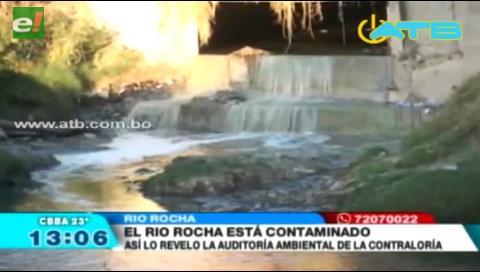 El río Rocha se encuentra contaminado