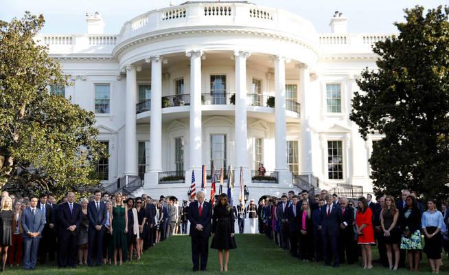 La Casa Blanca, el centro de poder de EEUU. (Reuters)