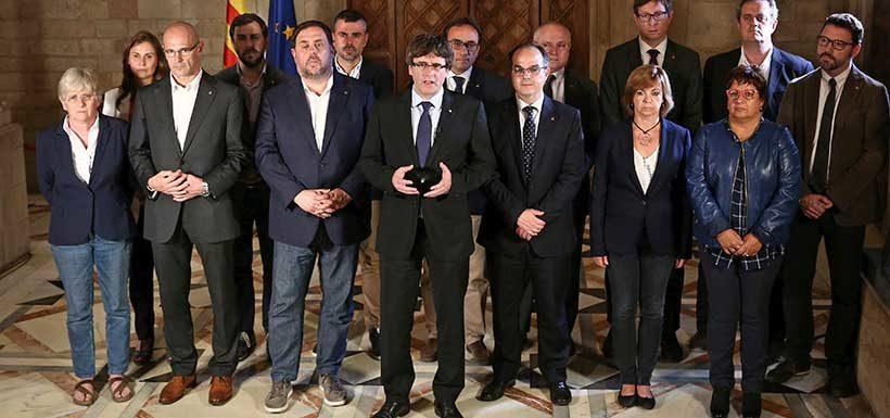 """Presidente catalán: """"Nos hemos ganado el derecho a tener un Estado independiente"""""""