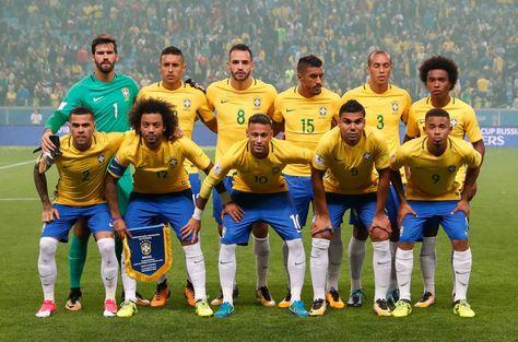 El seleccionado brasileño de fútbol que interviene en las eliminatorias al Mundial de Rusia 2018. Foto: Archivo EFE