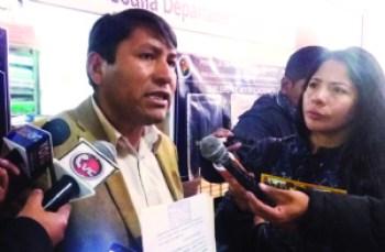 El MAS pide la aprehensión de Chapetón por crisis de fármacos