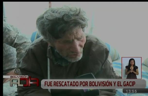Adulto mayor ciego fue rescatado de las malas condiciones en las que vivía