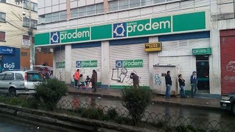 Agencia de Banco Prodem en La Paz
