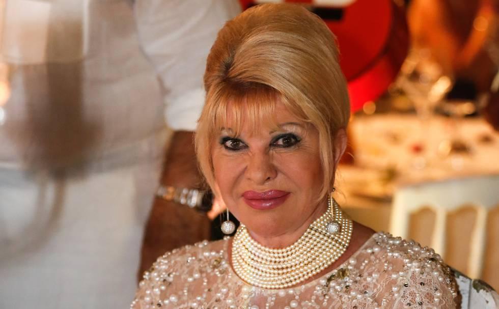 Ivana Trump, el pasado julio en Saint-Tropez.