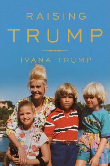 La portada del nuevo libro de Ivana Trump.