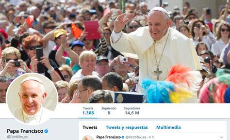 La cuenta en español del Papa Francisco.