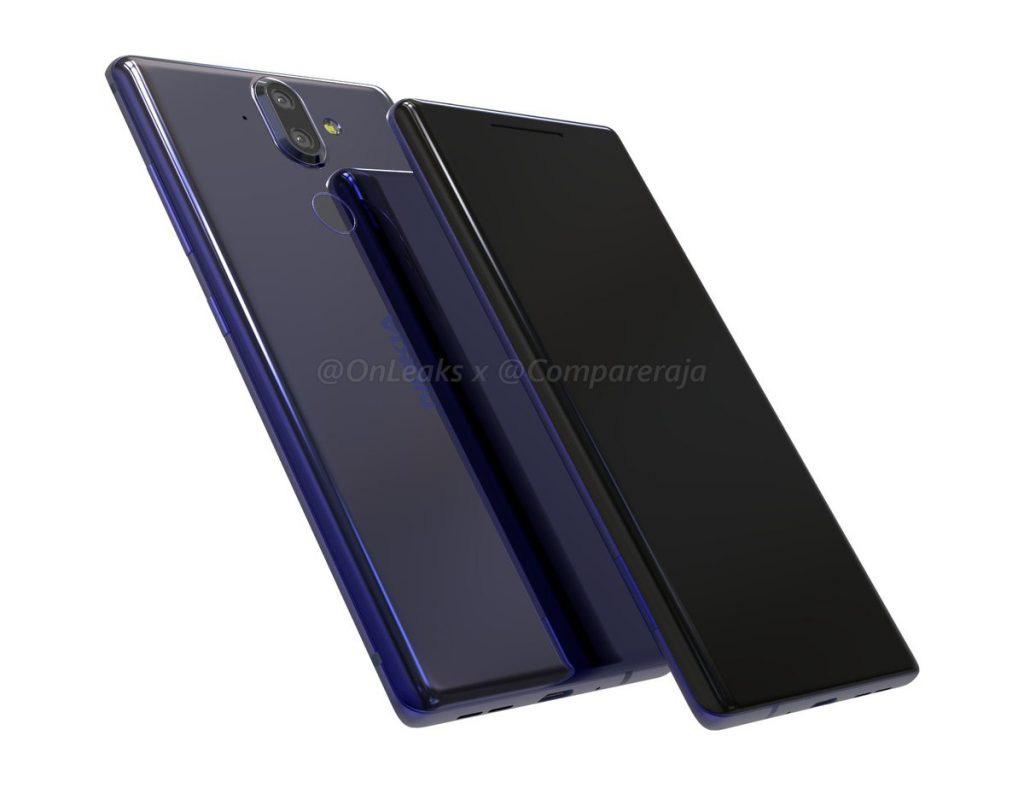 Carcasa de aluminio y cristal del Nokia 9