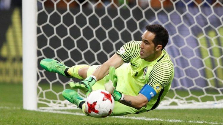 Claudio Bravo, capitán de Chile y portero del Manchester City (Reuters)