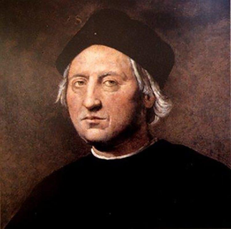Retrato de Cristóbal Colón por el pintor italiano Doménico Ghirlandaio, Museo del Mar de Génova